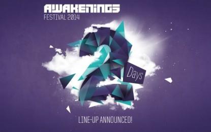 Line-up Awakenings Festival bekend met meer dan 100 artiesten