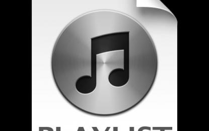 Playlist 6 juli 2013