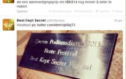 Nieuwkomer Best Kept Secret is beste festival
