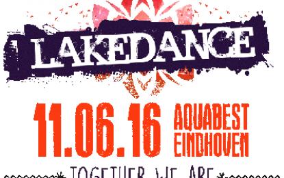 Volledige Line-up Lakedance 11.06.16