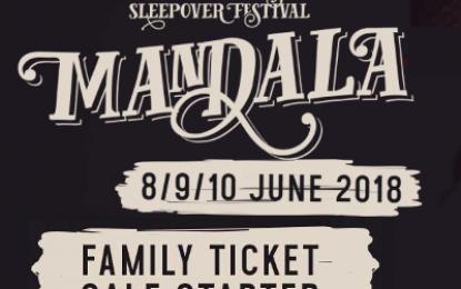 Family kaartverkoop Mandala 2018 begonnen